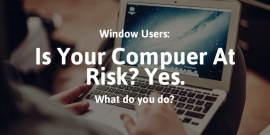 Is Your Computer at Risk? Windows XP Users... Yes